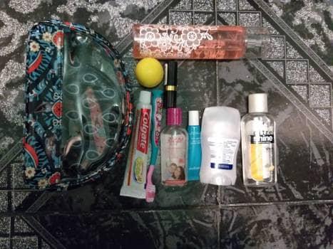 Cosmetiquera y monedero  Vera Bradley AZUL