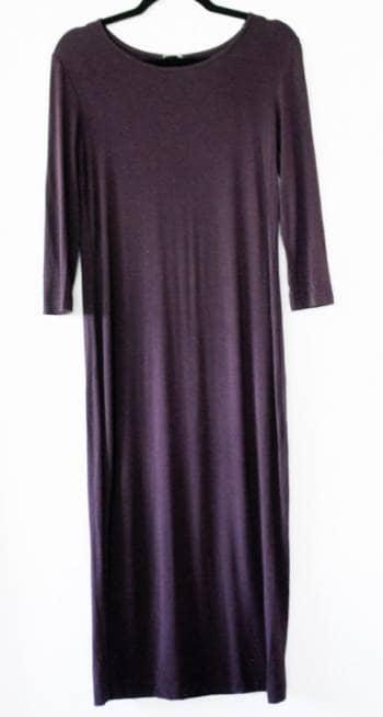 Vestido largo morado
