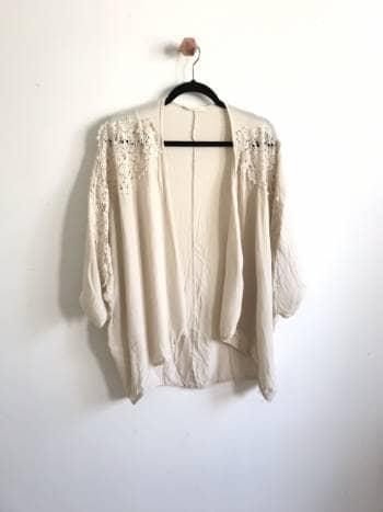 Kimono Beige Unitalla S-L