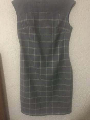 Vestido gris Ivonne