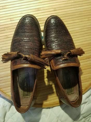 precio más bajo con últimos diseños diversificados venta de descuento Zapatos de piel exótica Franco cuadra