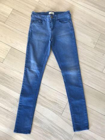 Jeans azules zara