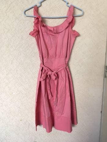 Vestido Rosa A Vintage