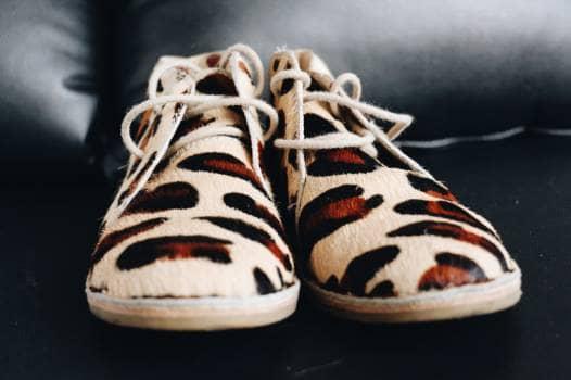 Zapatos con estampado print
