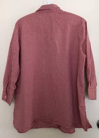 7737ce167b Camisa de Maternidad cuadritos roja - GoTrendier - 1035690