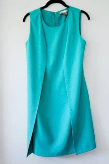 Vestido verde Forever 21