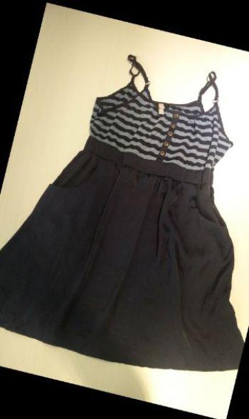 2X$300 Vestido falda tipo satín