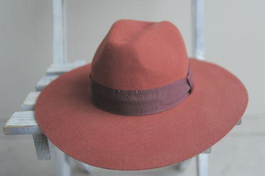 Sombrero naranja