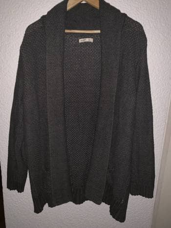 Suéter gris, talla XL, Old Navy