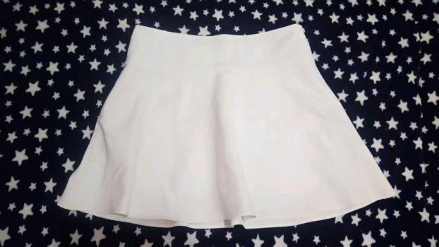 Falda blanca Elle