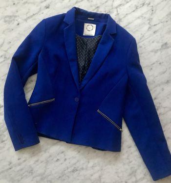 Blazer Azul bershka