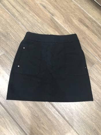 Falda H&M negra talla S
