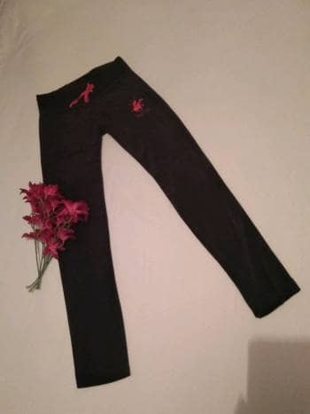 Pants negro velvet