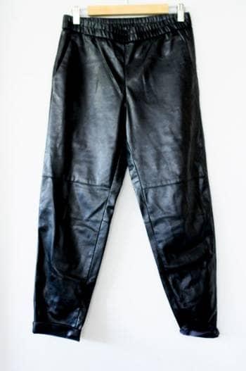 Pantalones de polipiel