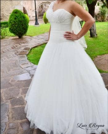 vestido de novia + velo + crinolina - gotrendier - 564982