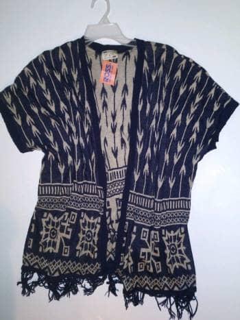 Kimono de punto