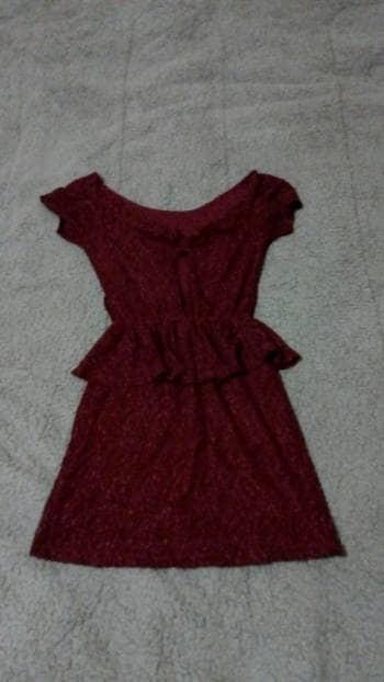 Imagenes de vestidos color vino cortos