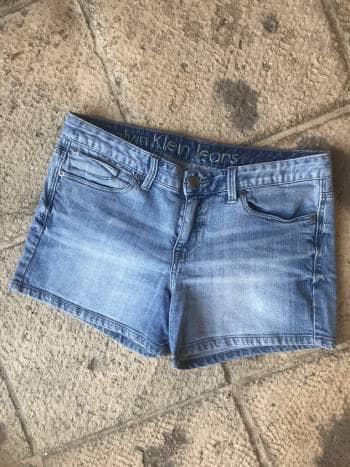 Shorts de mezclilla