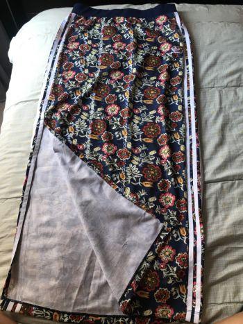 Falda adidas