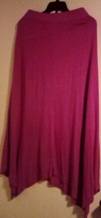 b8ddaa712b Falda larga color fucsia (rosa mexicano) - GoTrendier - 1232393