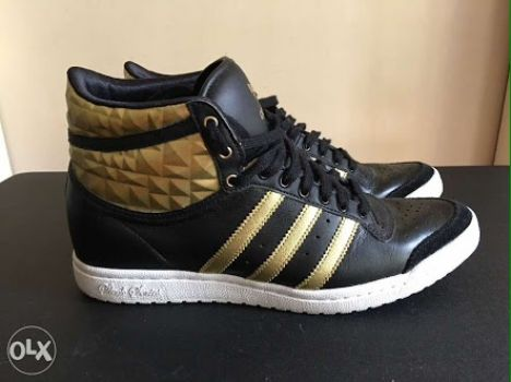 Adidas high top sleek series heel
