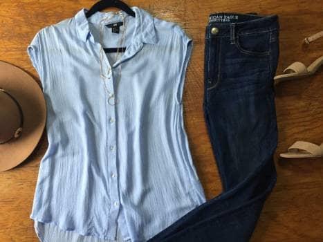 8c0f17d3cd Blusa azul bebe - GoTrendier - 1167244