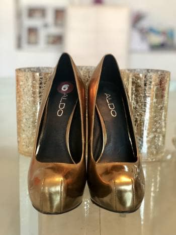Zapatillas Aldo bronce
