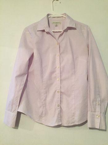 VENDIDA.Camisa cuadrito lila