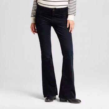 Pantalón de Corduroy Negro talla 10