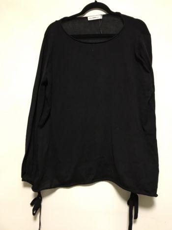 Suéter oversize negro