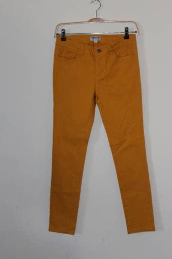 Jeans amarillos mostaza