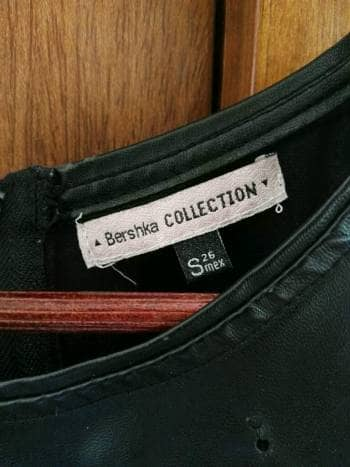 Blusa negra vinipiel - GoTrendier - 807325 3a91029d0c733