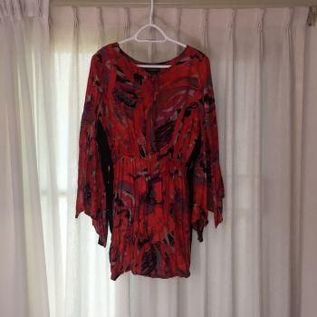 70's style dress