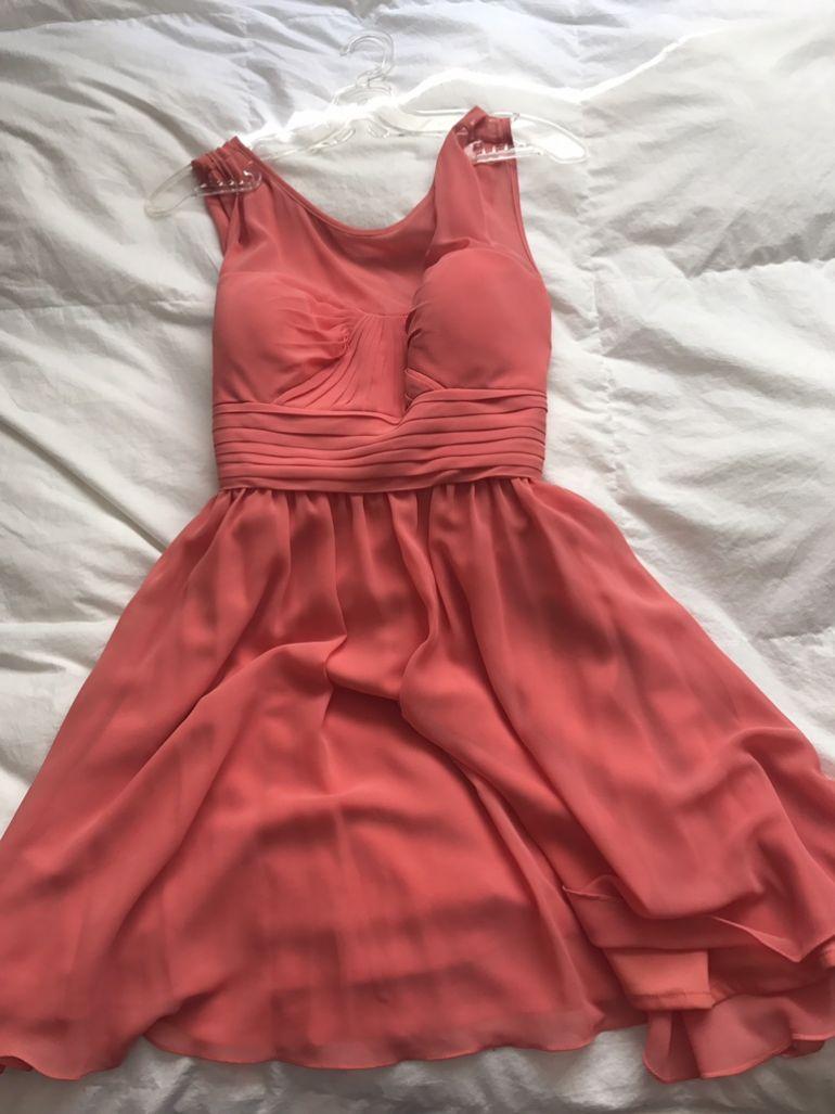 Vestido 362845 Gotrendier Liverpool Hermoso Coral De Coctel 7Yf6Igyvb
