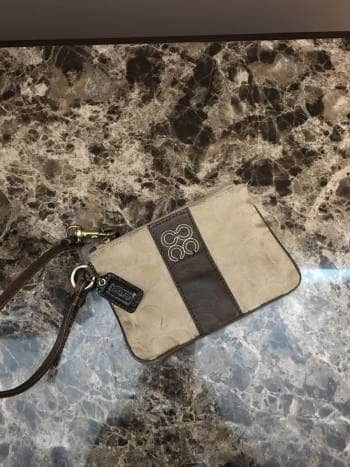Monedero Coach / VENDIDO