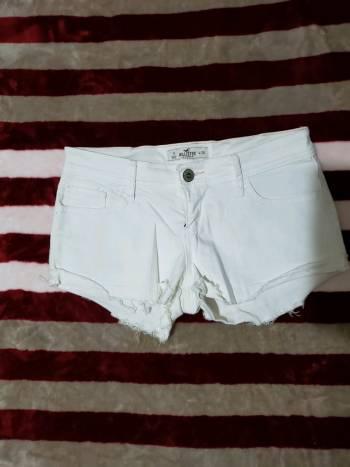 Short corto color Blanco