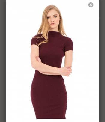 1856dbc5a Vestido nuevo corte lapiz gotrendier jpg 350x407 Vestidos corte lapiz
