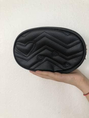 Belt bag negra con cinturón