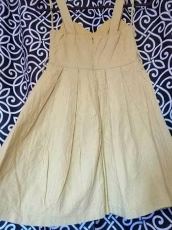 3x1 Precioso vestido mostaza