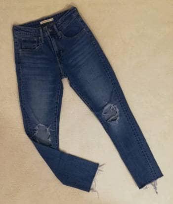 Skinny jeans high waisted Levi's