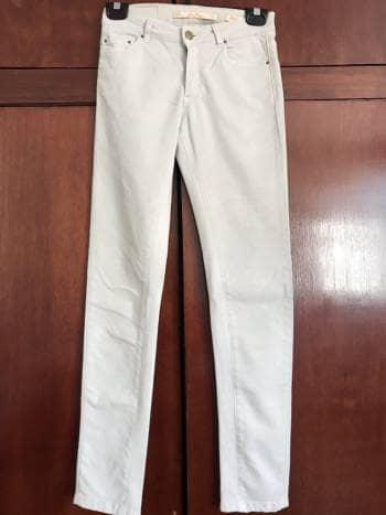 Pantalon skinny Zara beige