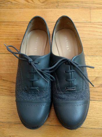 Zapato gris Oxford