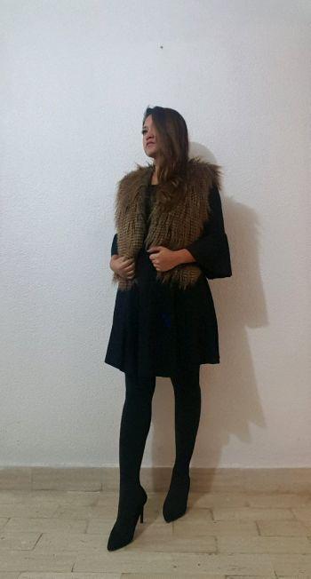 Chaleco Faux Fur Animal Print