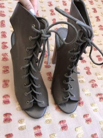 Zapatillas con agujetas