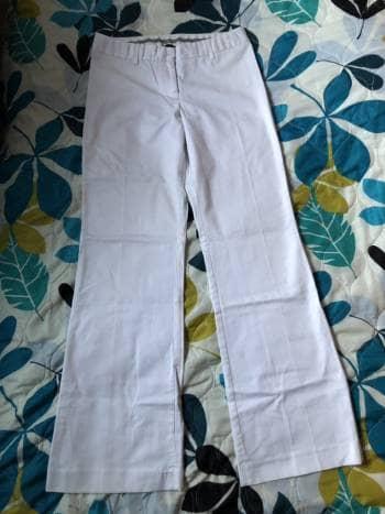 Pantalon de vestir Blanco