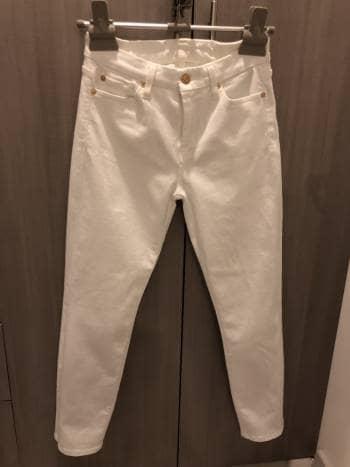 Jeans blancos 7