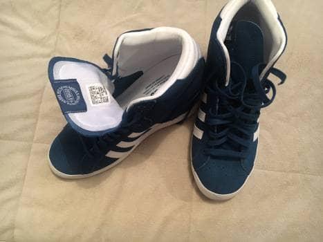 Adidas basket prof! Con cuña