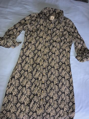 Vestido flojito mediano