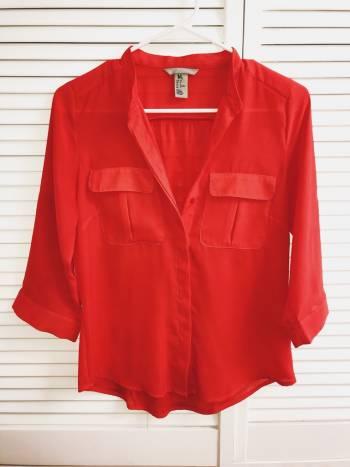 Camisa naranja de H&M
