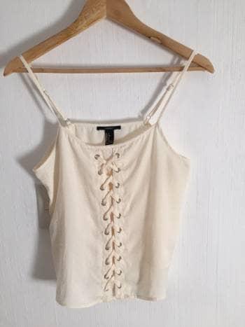 e0dced273 Blusa con detalle tipo corset - GoTrendier - 1544708